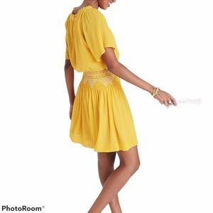 Madewell  Smocked Minidress